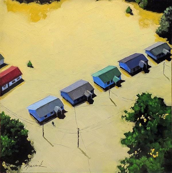 """Flooded"" original fine art by Karin Jurick"