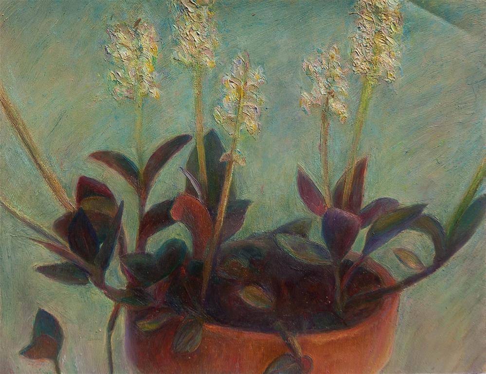 """Orchid"" original fine art by Ryan Martin"