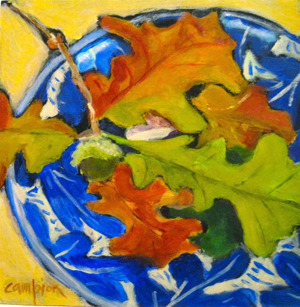 """""""472 Symbols of Strength"""" original fine art by Diane Campion"""