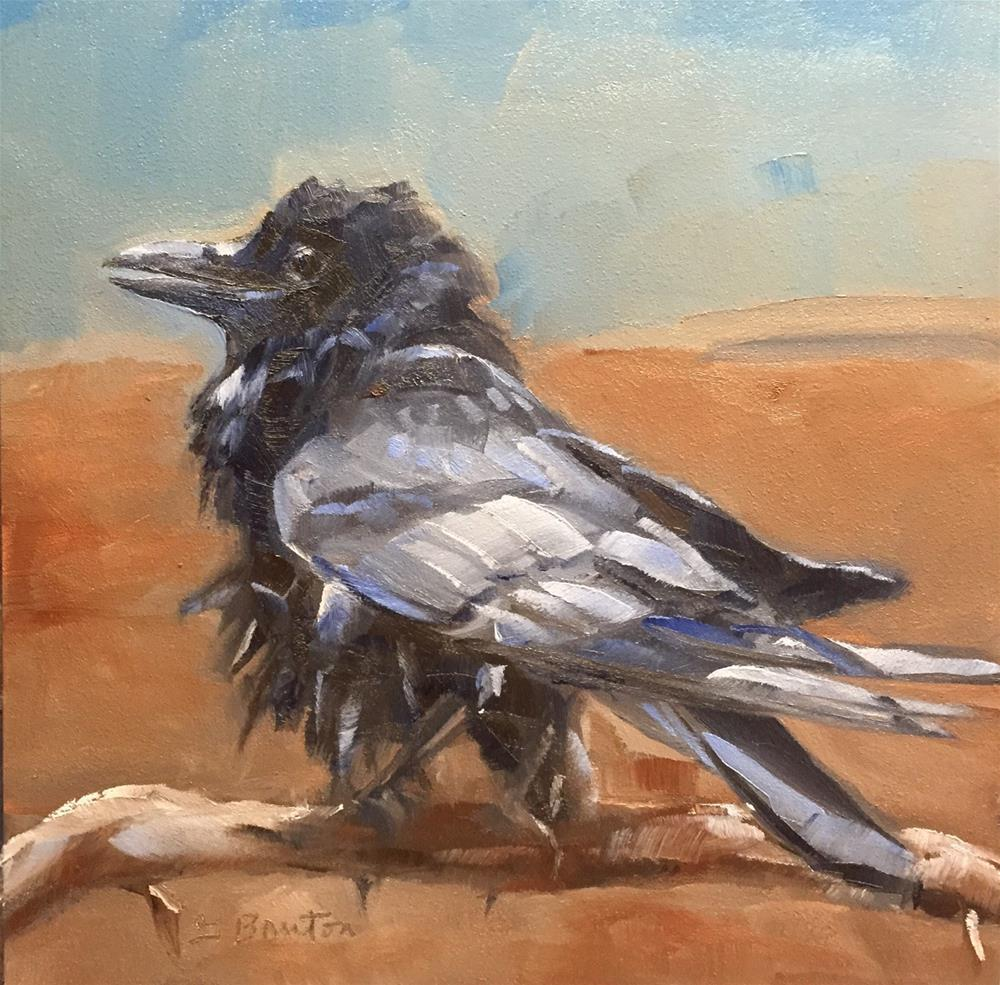 """My Feathers Are Ruffled"" original fine art by Gary Bruton"