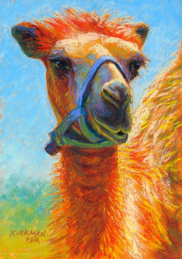 """Baby - day 7"" original fine art by Rita Kirkman"