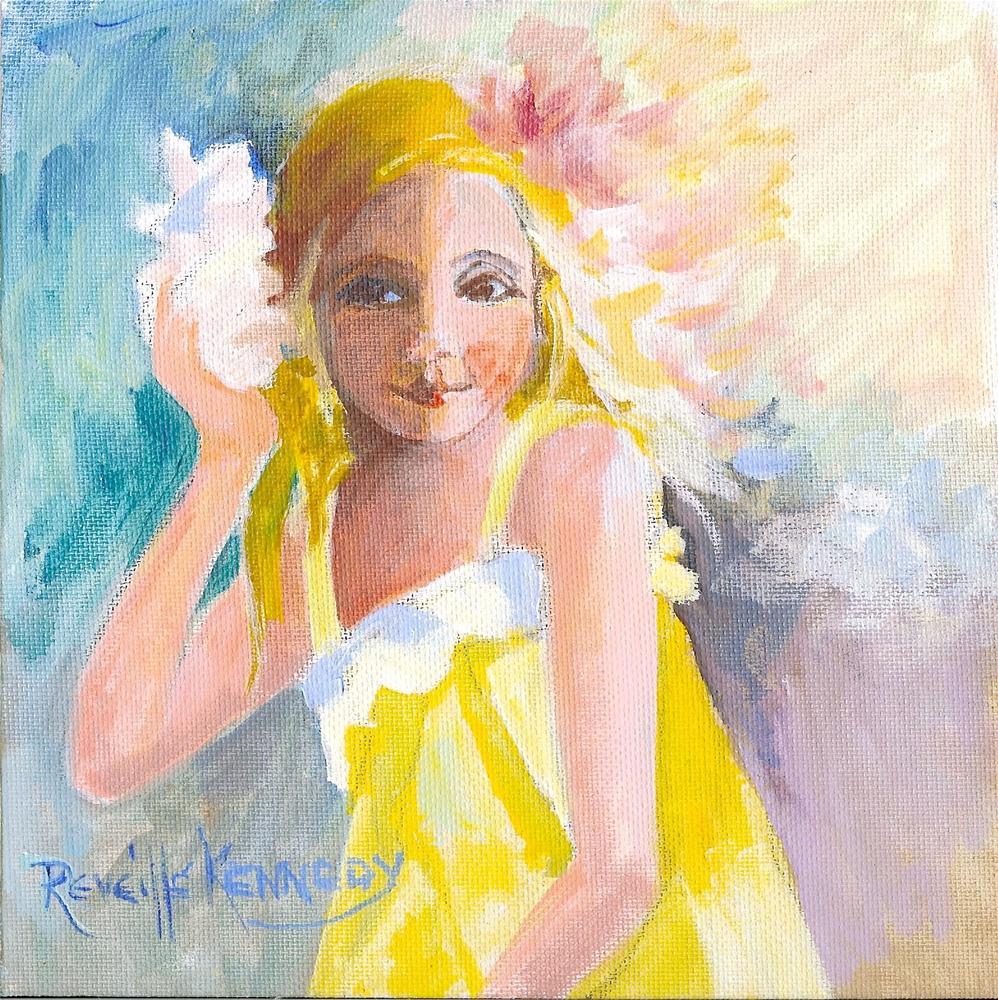 """Ocean Song"" original fine art by Reveille Kennedy"