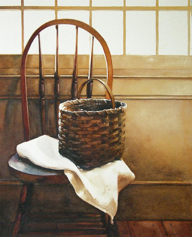 """A Moment's Rest"" original fine art by Kara K. Bigda"