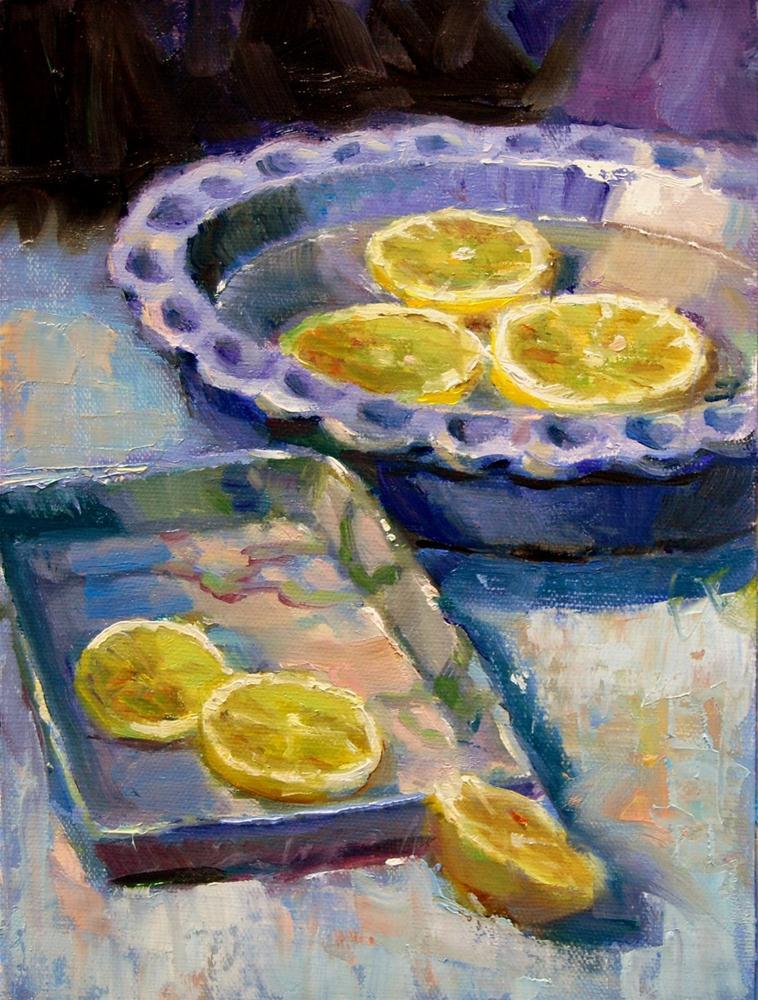 """""""Mother's Pottery #4"""" original fine art by Julie Ford Oliver"""