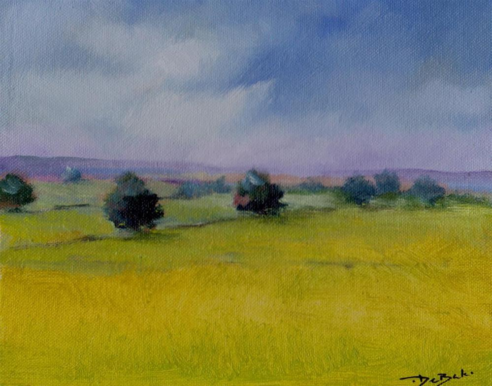 """windless"" original fine art by Mark DeBak"