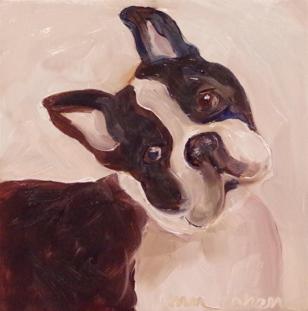 """""""The Boss"""" original fine art by Ann Cohen"""