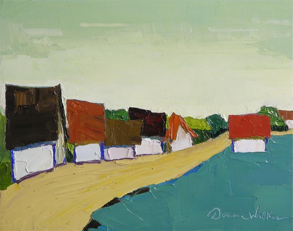 """Close Knit Group"" original fine art by Donna Walker"