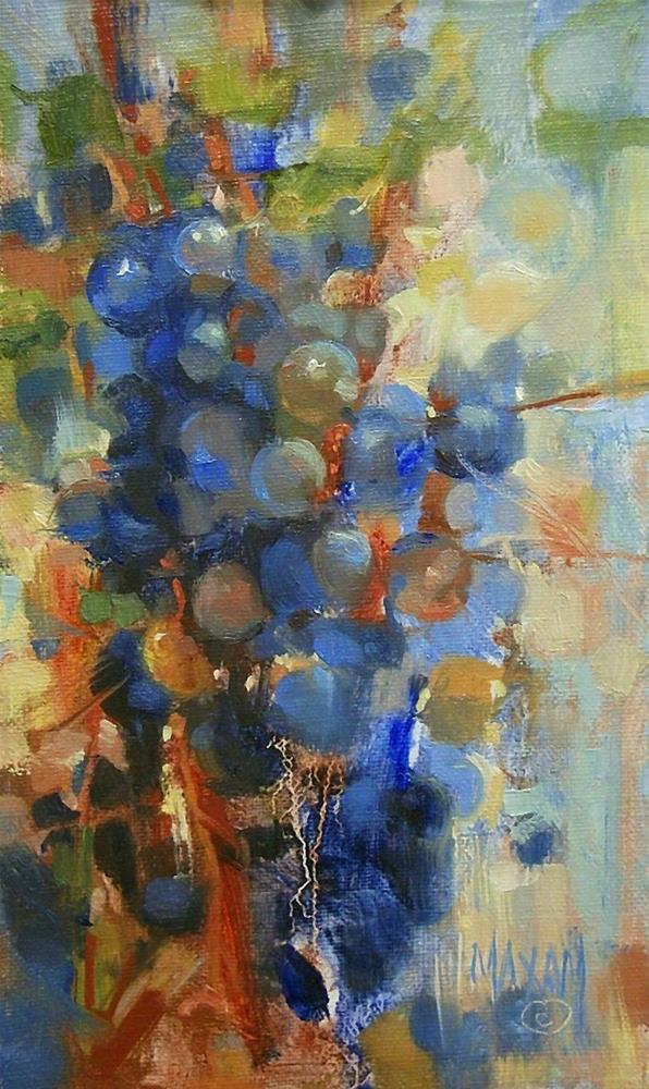 """""""Grape Arbor"""" original fine art by Mary Maxam"""