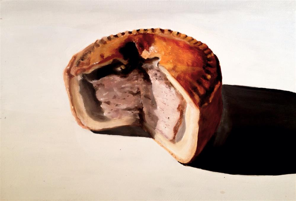 """Pork Pie"" original fine art by James Coates"