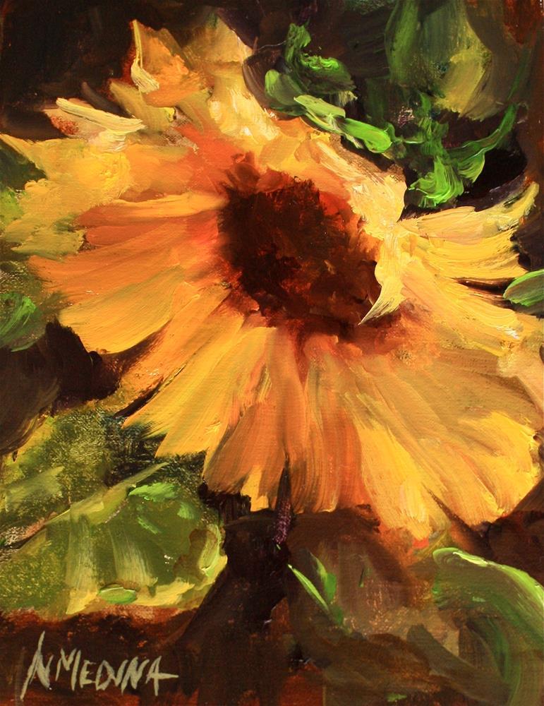 """Wild Abandon - Nancy Medina Art Videos and Classes"" original fine art by Nancy Medina"