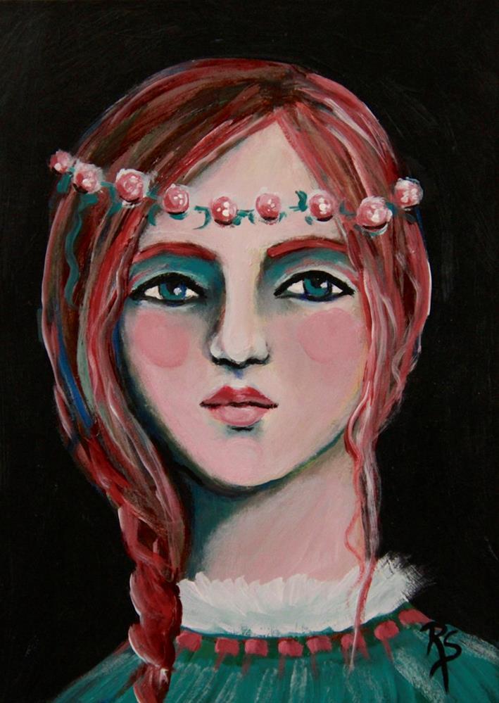 """Sweet Jenny"" original fine art by Roberta Schmidt"