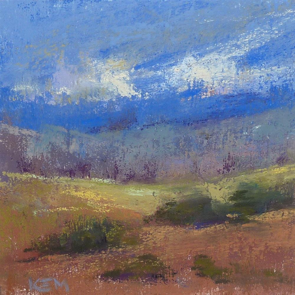 """""""A Quick and Easy Textured Pastel Surface"""" original fine art by Karen Margulis"""