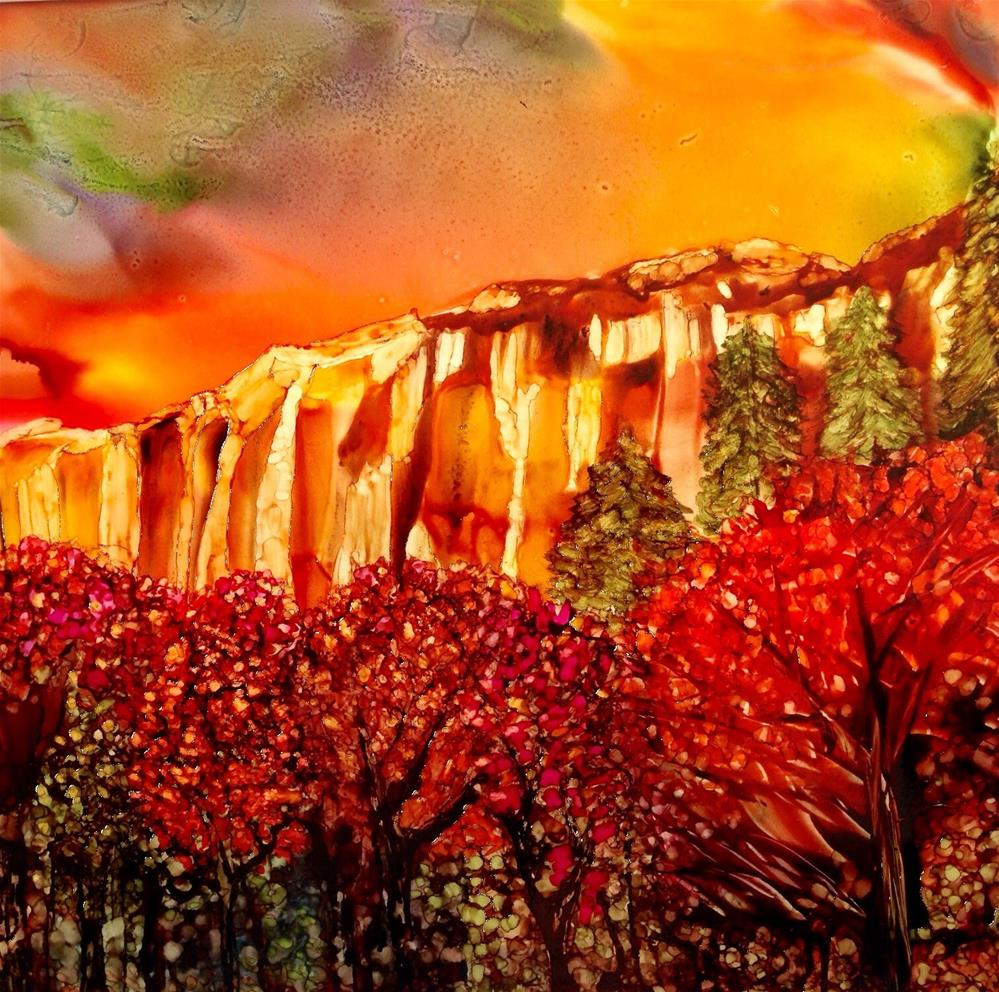 """Marble Cliffs"" original fine art by Korinne Carpino"