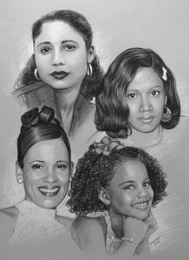 """Portrait discount ending soon!"" original fine art by Rita Kirkman"