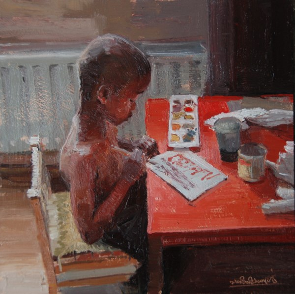 """Kidz, Life, art and Stuff"" original fine art by Adebanji Alade"