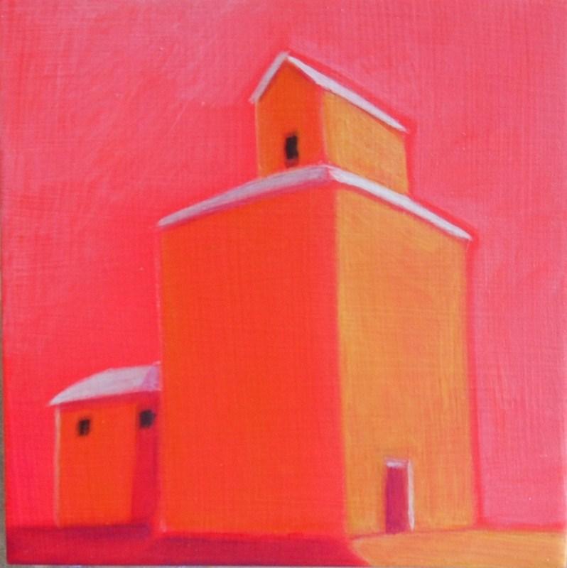 """""""Golden Grain"""" original fine art by Almira Hill Grammer"""