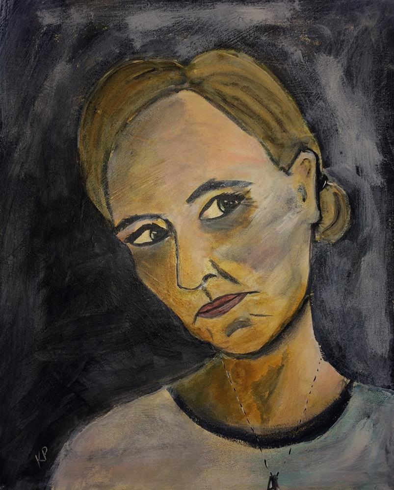 """""""Solemn"""" original fine art by Kali Parsons"""
