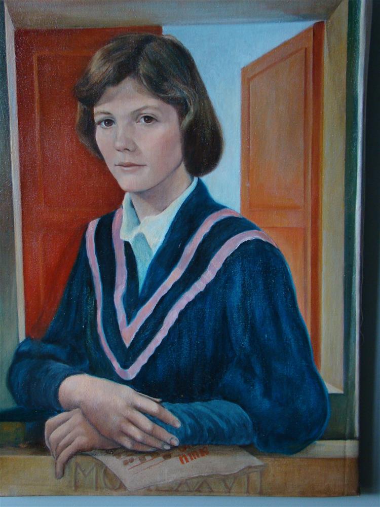 """nancy"" original fine art by meribeth coyne"