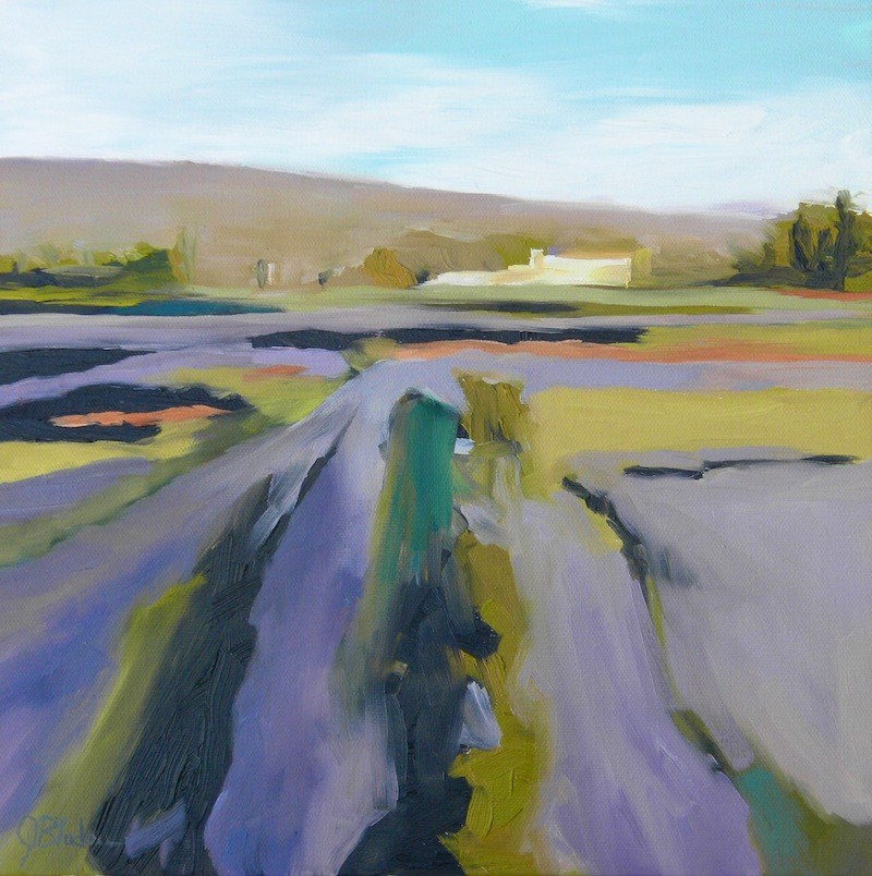 """Sonoma"" original fine art by Janet Bludau"
