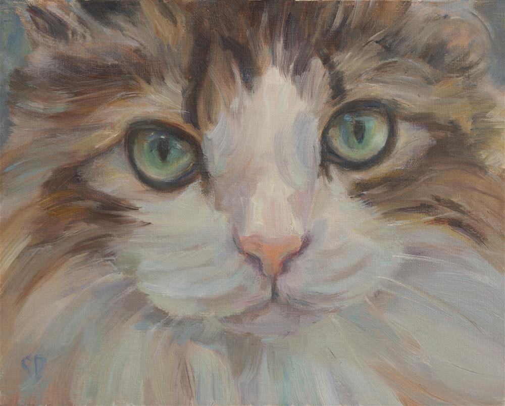 """George"" original fine art by Carol DeMumbrum"