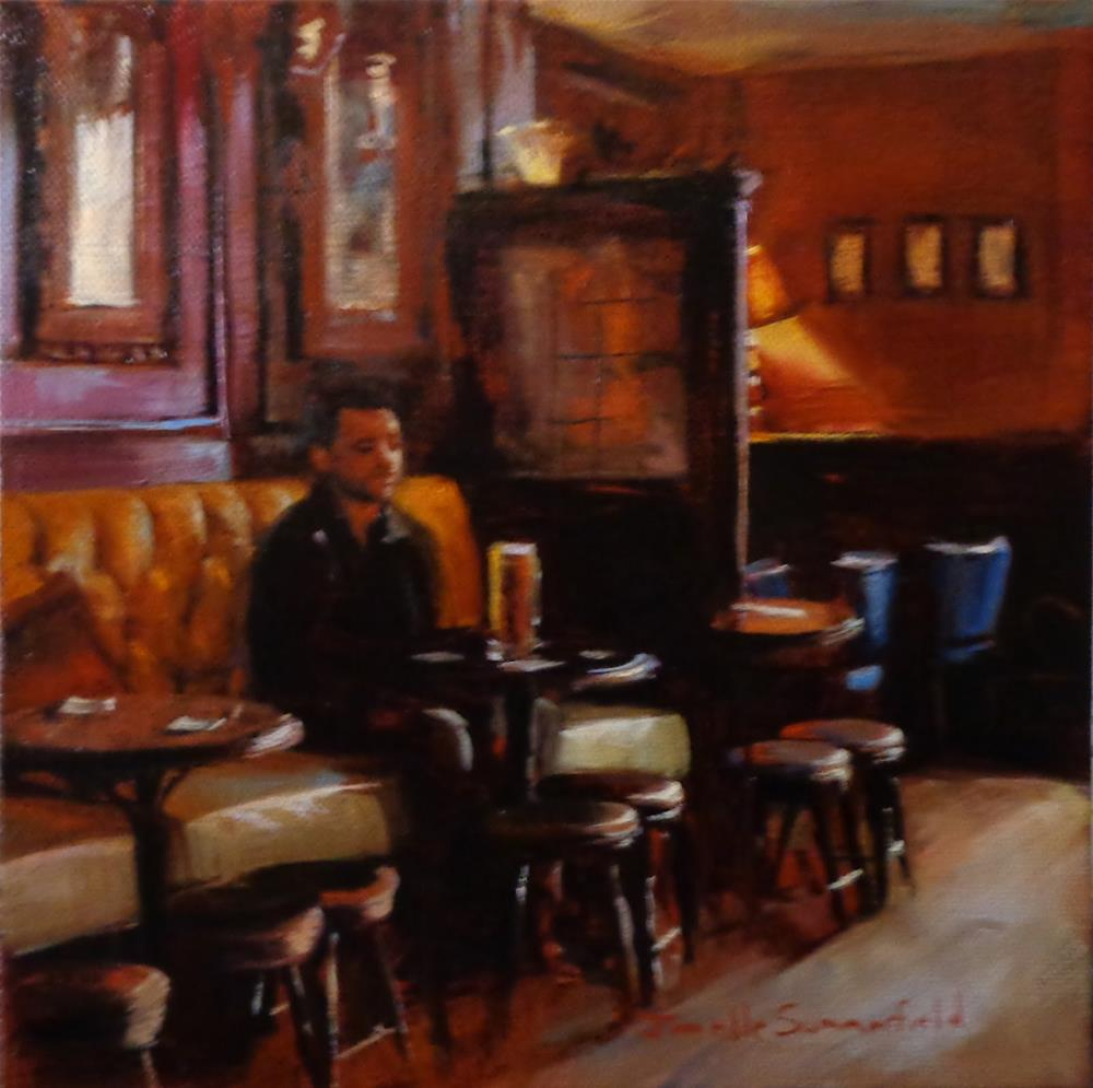 """Pub in Wexford"" original fine art by Jonelle Summerfield"