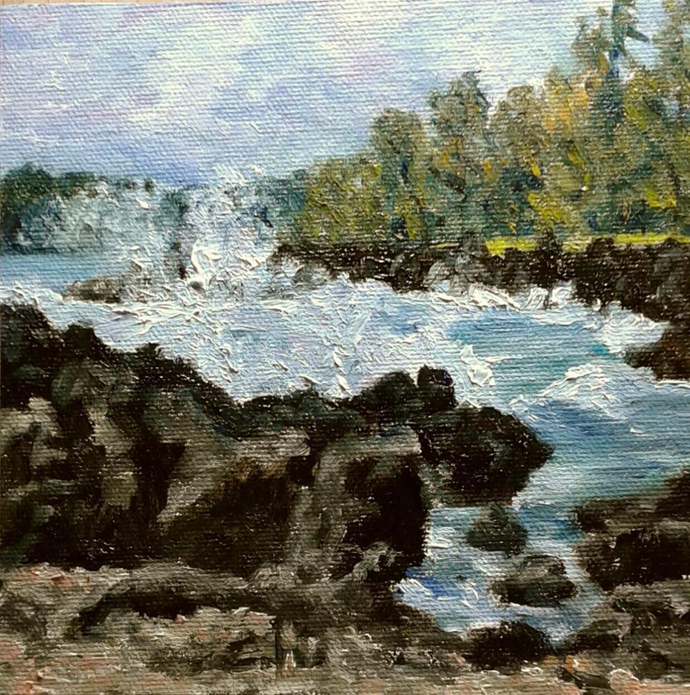 """Hawaii Day"" original fine art by Candi Hogan"