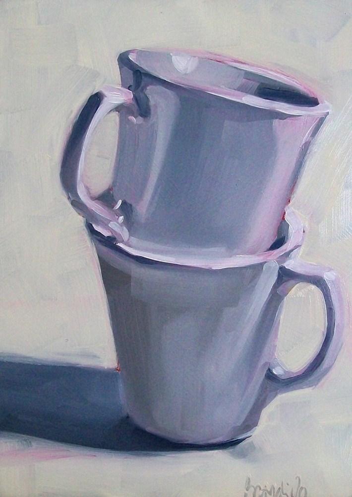 """white on white"" original fine art by Brandi Bowman"