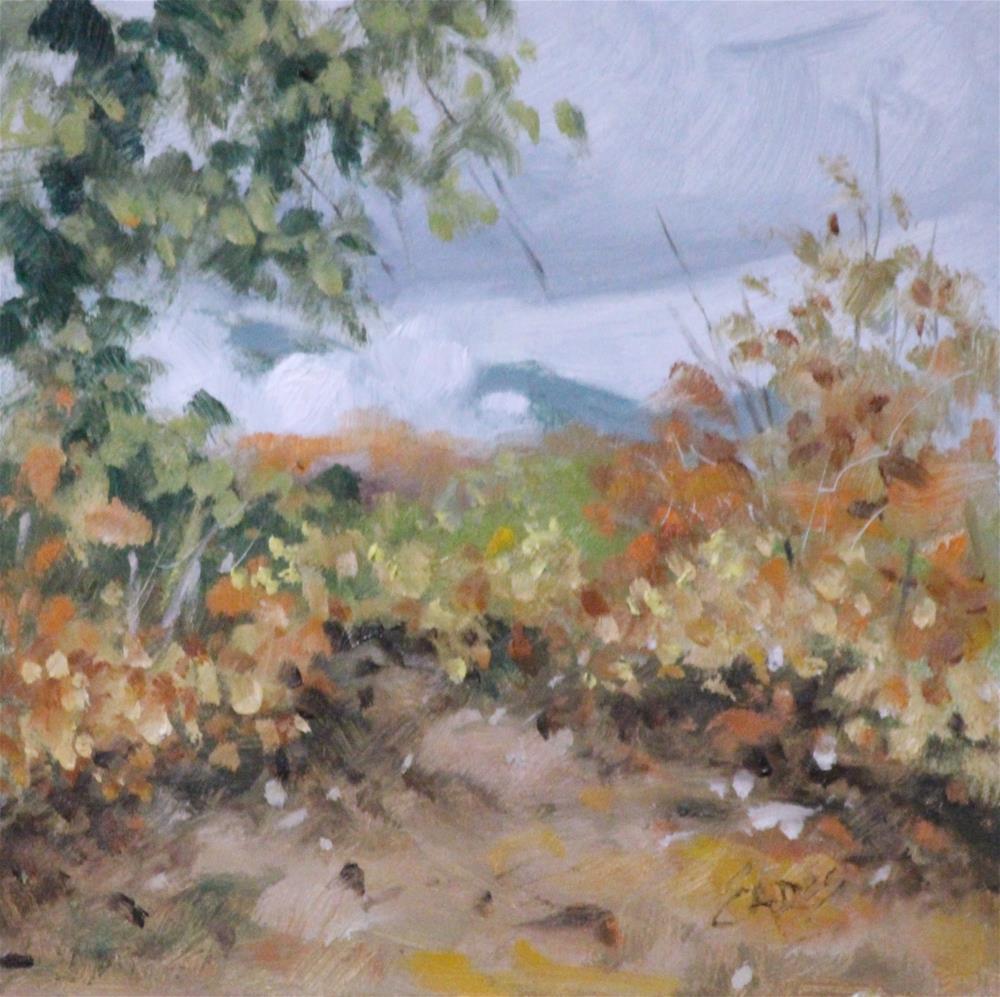 """""""In the Clouds"""" original fine art by Linda Eades Blackburn"""