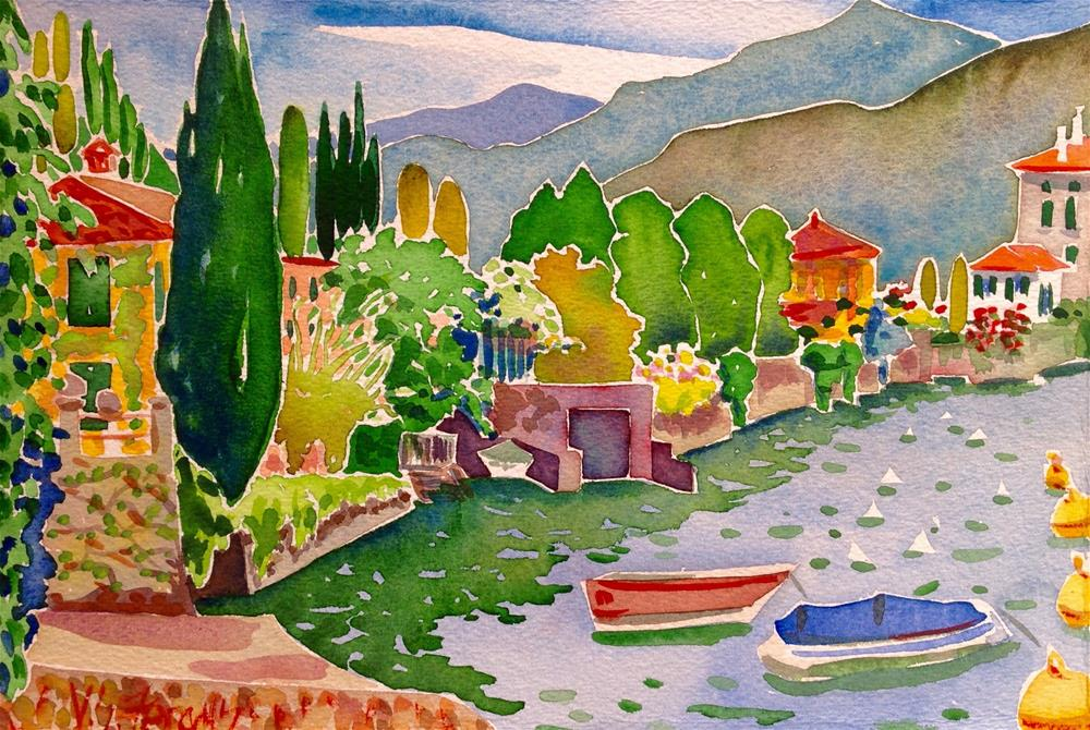 """Idyllic Inlet"" original fine art by Virginia Fergus"