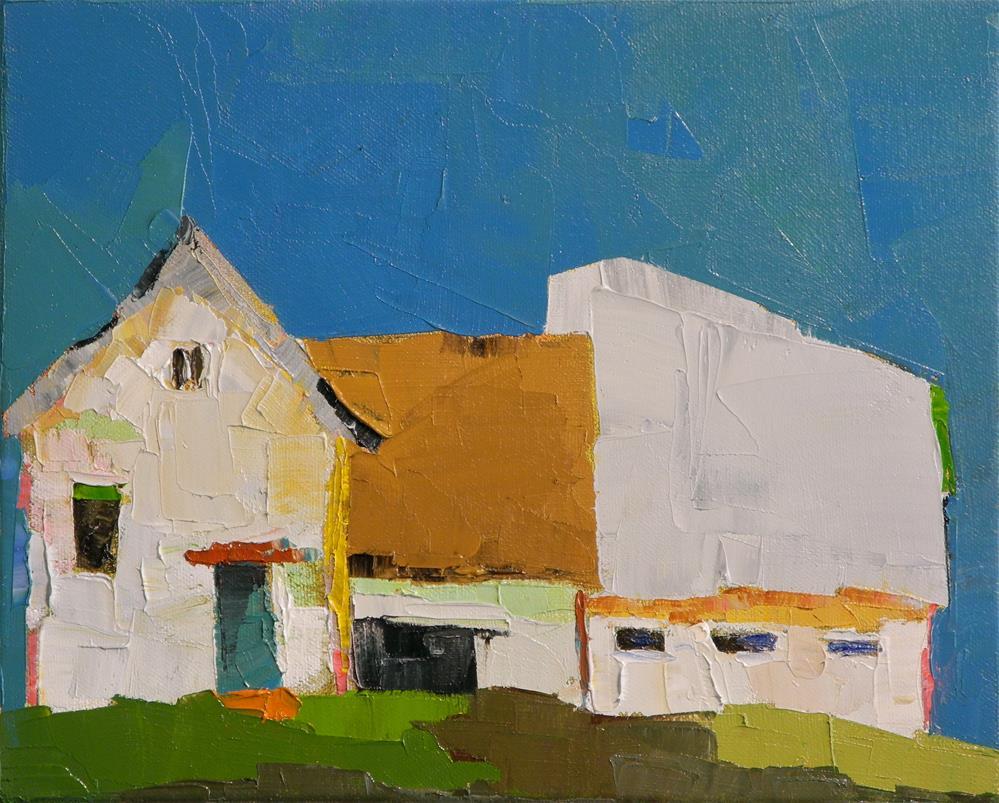 """Country Twilight"" original fine art by Donna Walker"
