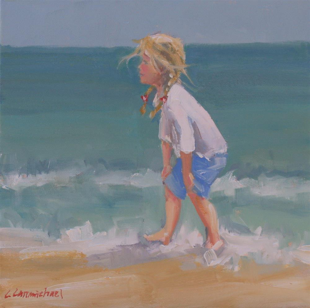 """lucky one"" original fine art by Carol Carmichael"