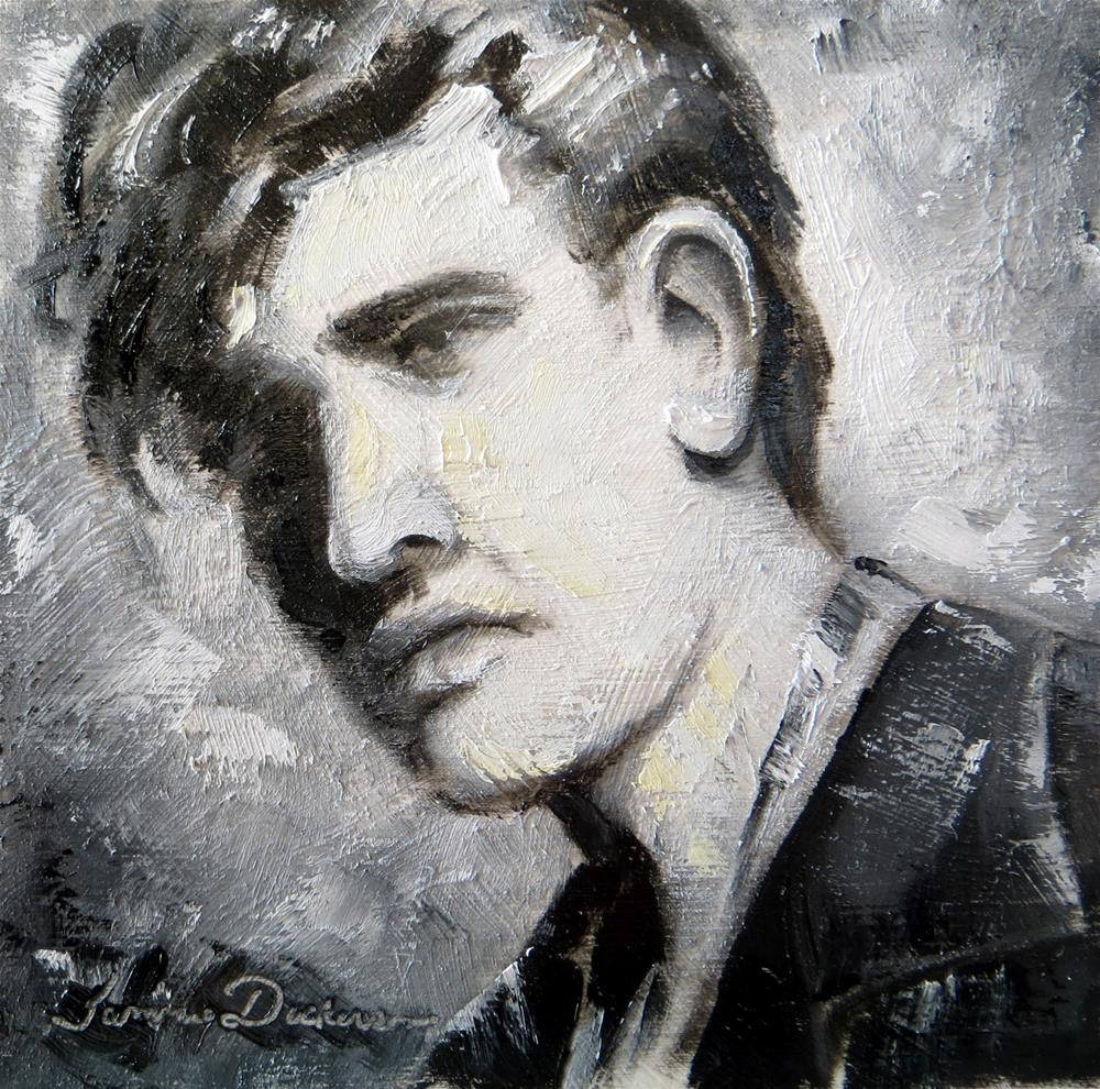 """""""Young Elvis"""" original fine art by Tammie Dickerson"""