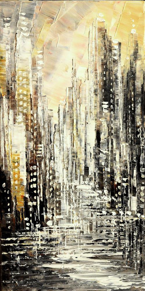"""Stone & Glass"" original fine art by Tatiana Iliina"