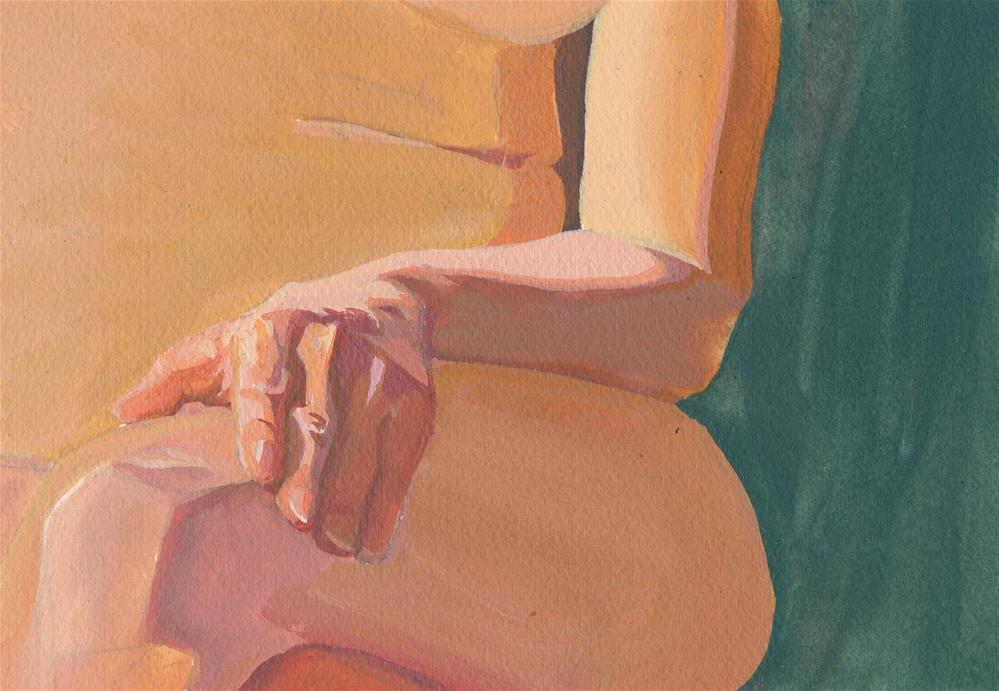 """Hand Study"" original fine art by Mark Allison"