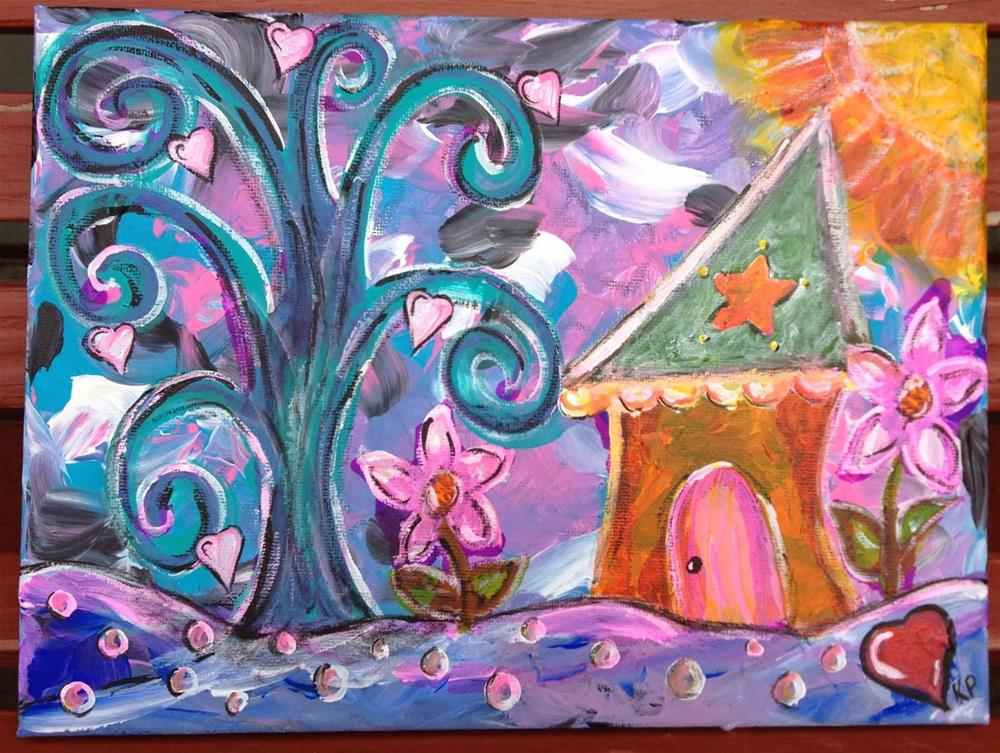 """Wishes and Dreams"" original fine art by Kali Parsons"