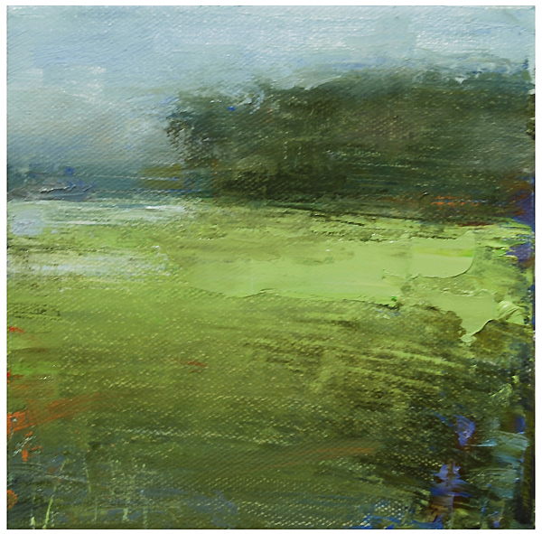 """""""Marshland with a touch of blue"""" original fine art by Steven Goodman"""