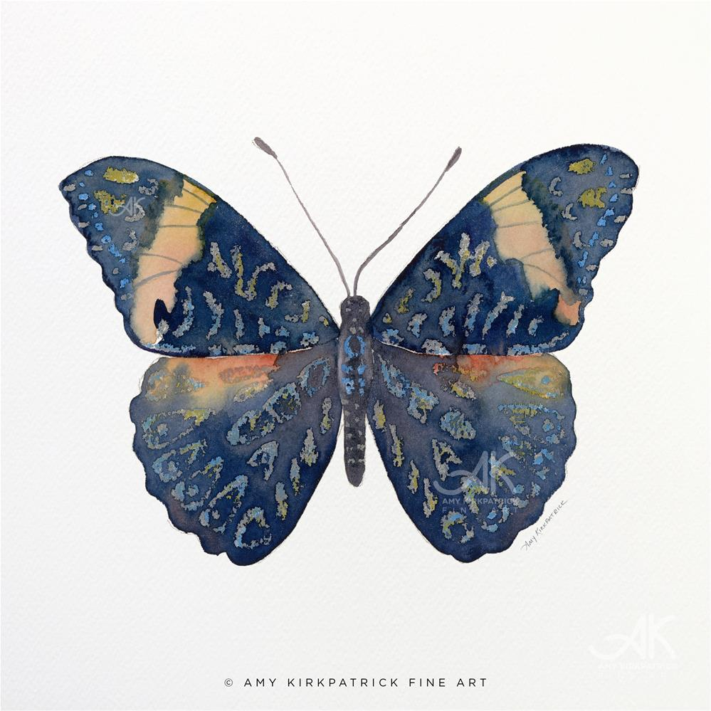 """""""#89 Red Cracker Butterfly #0399"""" original fine art by Amy Kirkpatrick"""