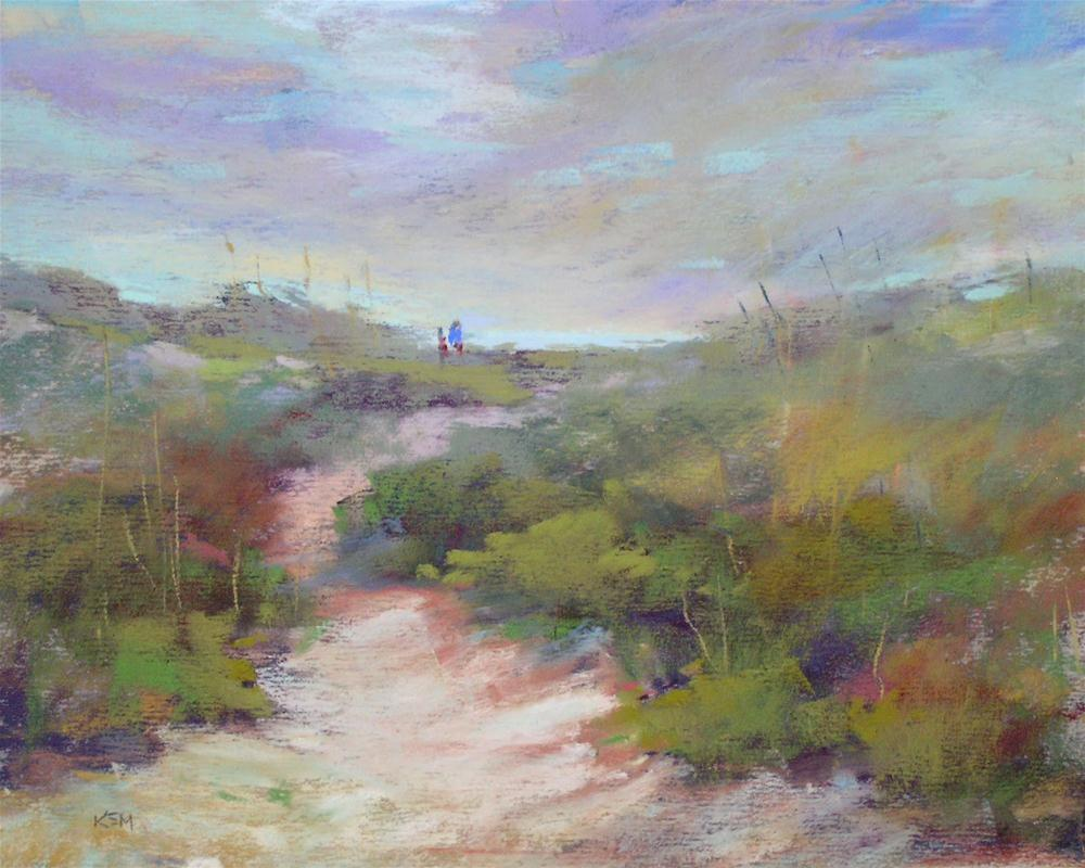 """Underpainting 101...Value Underpaintings for Pastel"" original fine art by Karen Margulis"