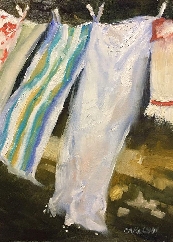 """Just A Light Breeze"" original fine art by Carolynn Doan"