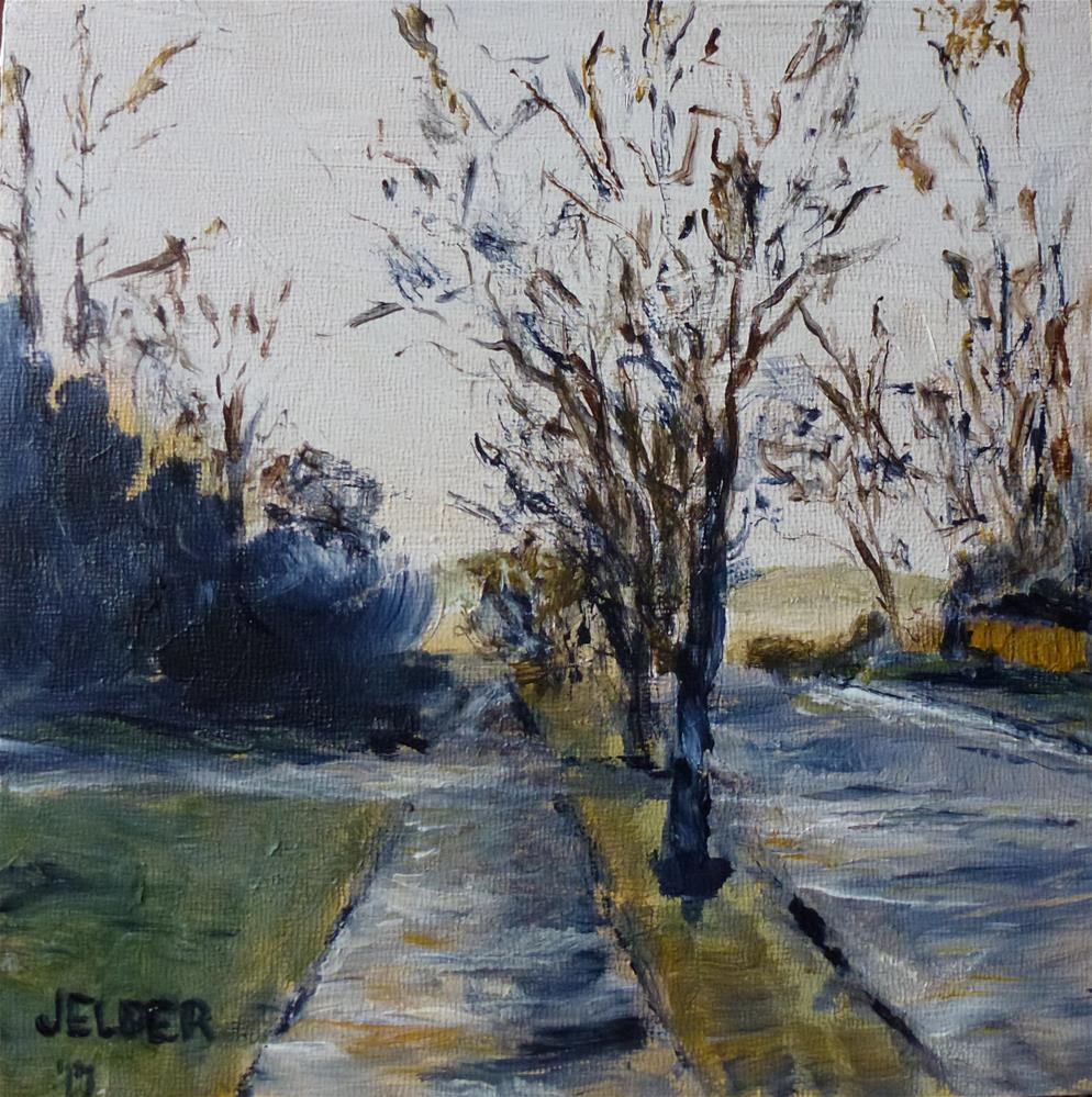 """Late in the Day"" original fine art by Judith Elder"