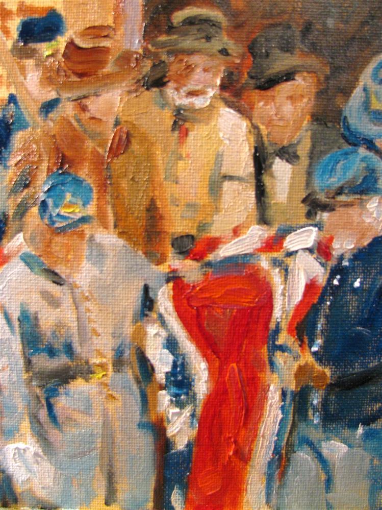 """Confederate Burial"" original fine art by Susan Elizabeth Jones"