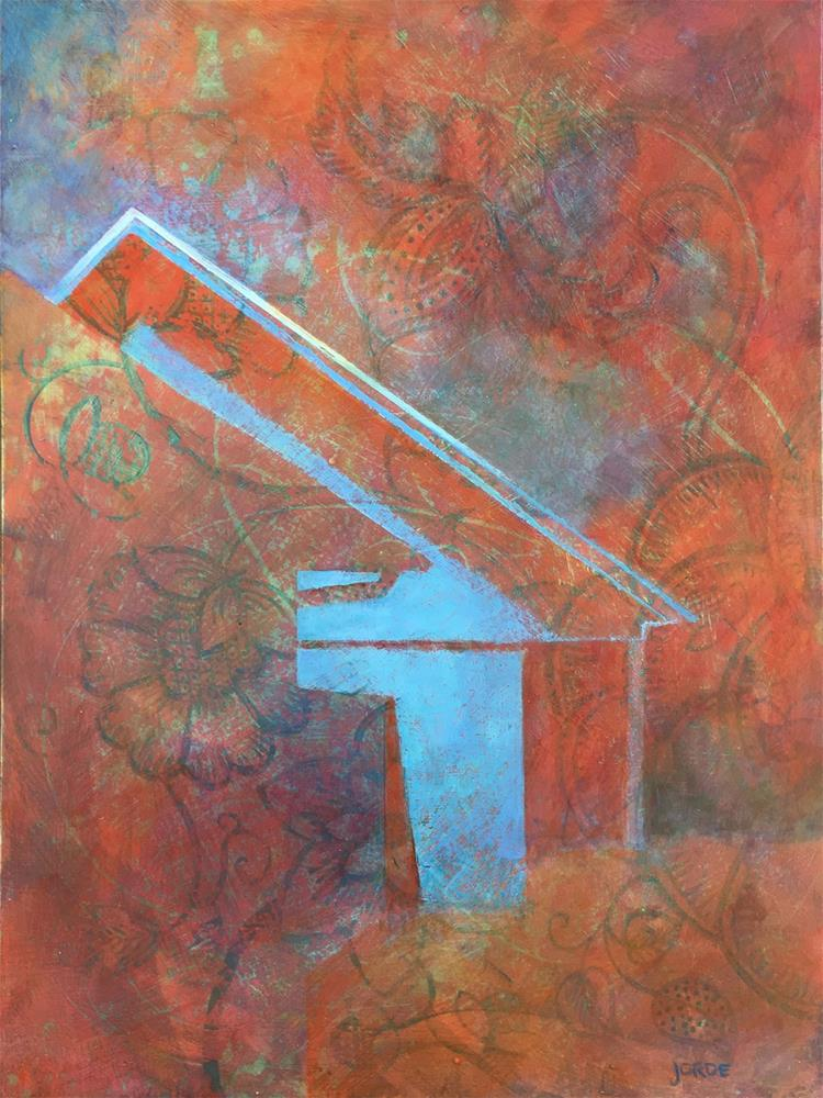 """""""Nebel und Feuer"""" original fine art by Robyn Jorde"""