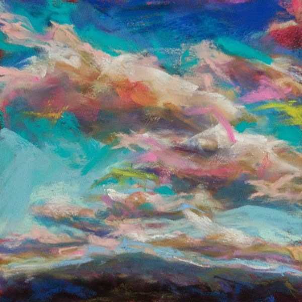 """FOR A LIMITED TIME A SURPRISE SKYSCAPE SALE!"" original fine art by Susan Roden"