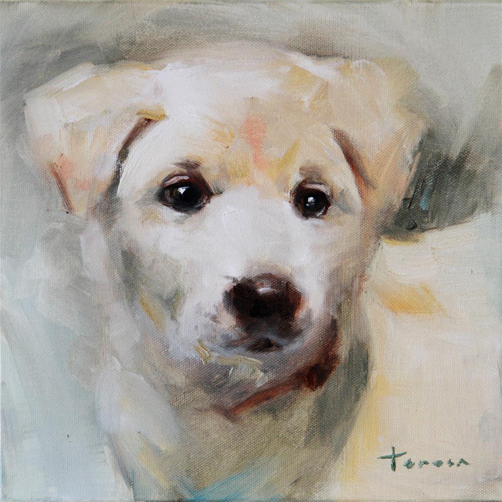 """Puppy03"" original fine art by Teresa Yoo"
