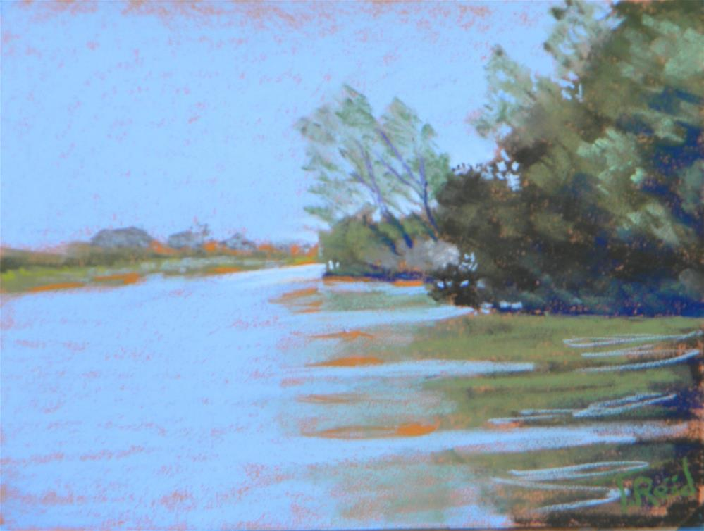 """River shades"" original fine art by Toby Reid"