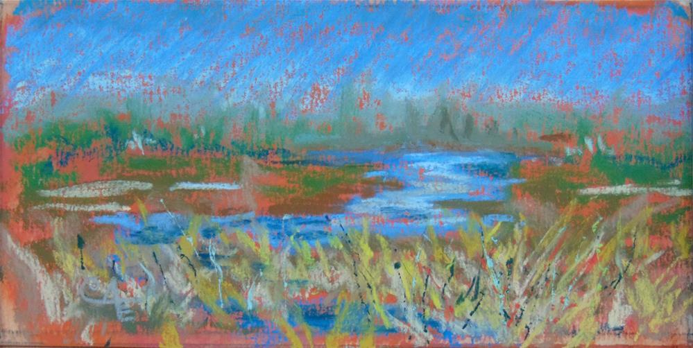 """Local Marshland"" original fine art by Catherine Kauffman"