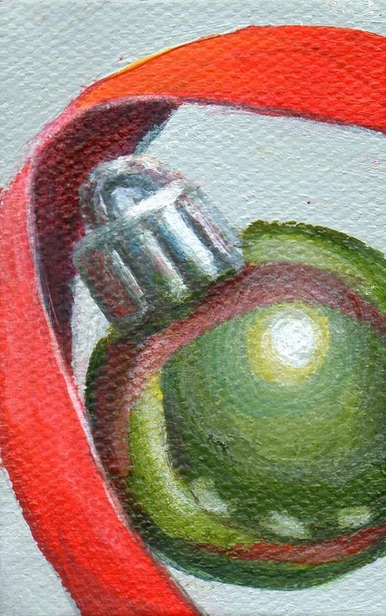 """Ornament Painting"" original fine art by Debbie Shirley"