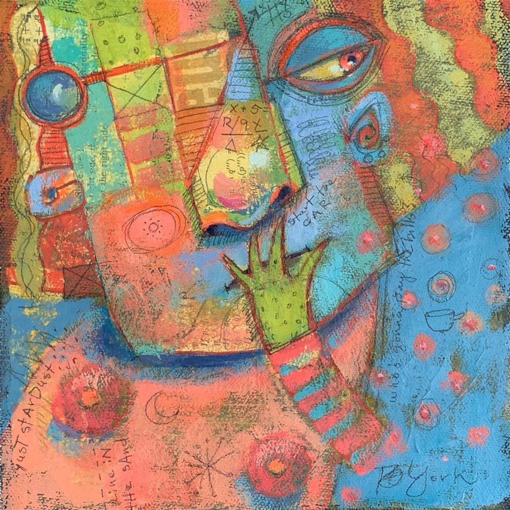 """St. Hedwig Of Mammilla (Retired Pole Dancer)"" original fine art by Brenda York"