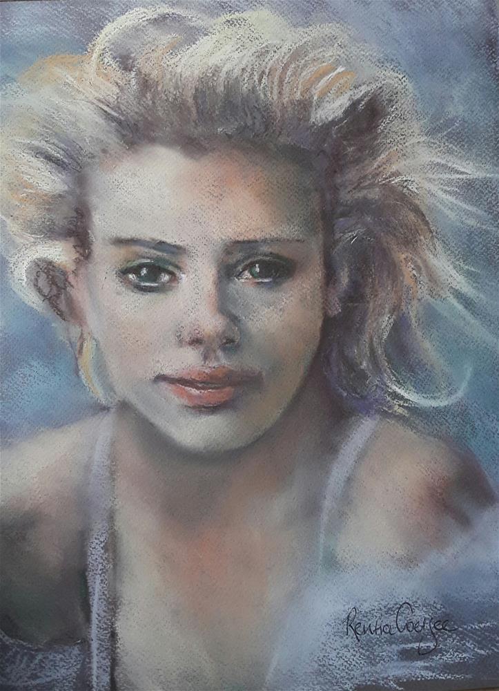 """Windswept"" original fine art by Rentia Coetzee"