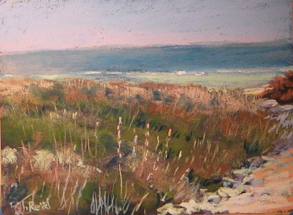 """""""Summer end"""" original fine art by Toby Reid"""